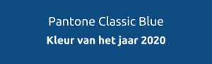 Pantone Classic Blue, kleur van 2020
